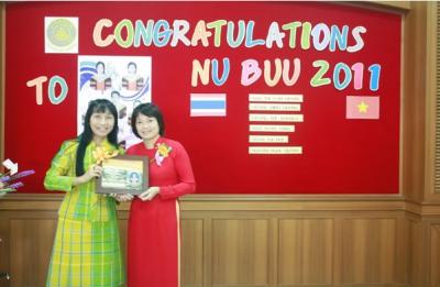 Bảo vệ luận văn Thạc sĩ Điều dưỡng tại Thái Lan của học viên Hoàng Minh Hương